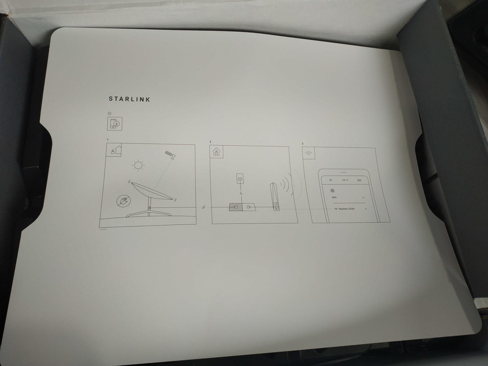 starlink box instructions
