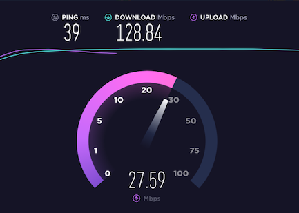 Starlink Upload Speed